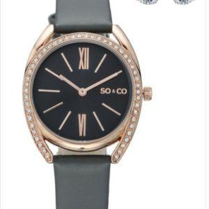 SO&CO Madison 5097 Grey Watch Set #96